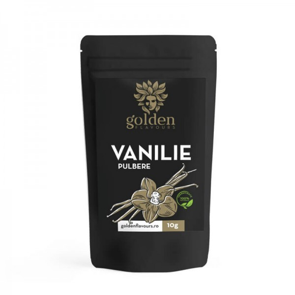 Vanilie pulbere 100% naturala (10 grame), Golden Flavours
