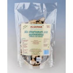 Alge marine cu ciuperci shiitake (100g), Algamar