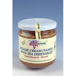 Pasta de tahini cu alge marine bio (320g), Algamar