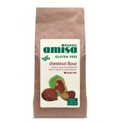 Faina de castane fara gluten bio (350 grame), Amisa