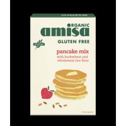 Mix pentru clatite fara gluten bio 2x180 grame (total 360g), Amisa