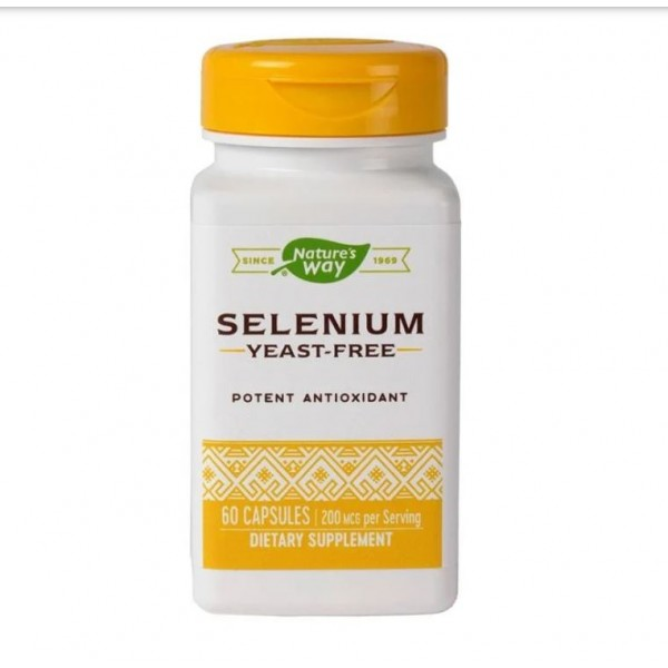 Selenium 200mcg  (60 capsule)