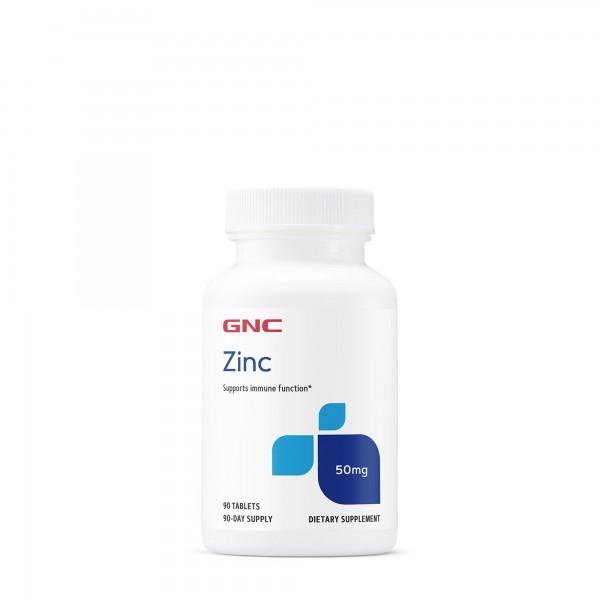 Zinc citrat 50 mg (100 tablete), GNC