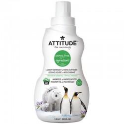 2 in 1 Detergent si balsam de rufe, aroma montana (1050  ml), Attitude