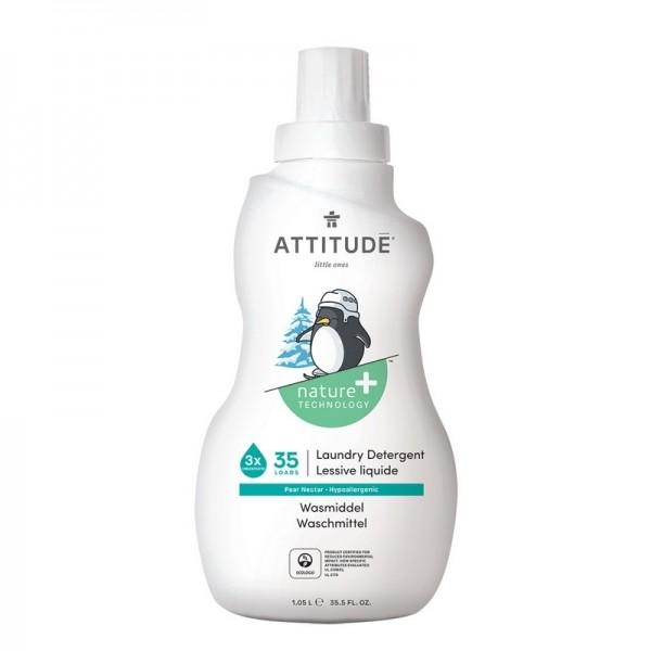 Detergent lichid pentru rufele bebelusilor, 35 spalari, nectar de pere (1050 ml), Attitude