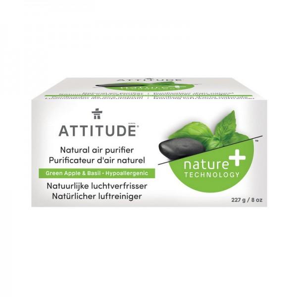Purificator de aer, cu uleiuri esentiale din mar verde si busuioc (227 grame), Attitude