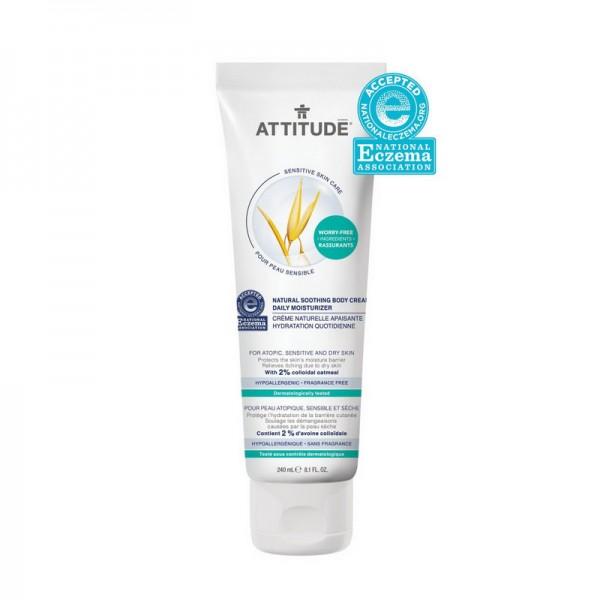 Sensitive Natural Crema calmanta pentru uz zilnic (240 ml), Attitude