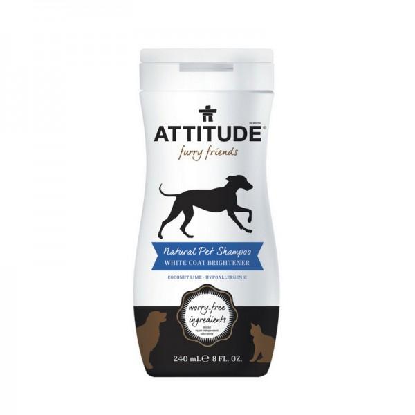 Sampon blana alba stralucitoare (240 ml), Attitude
