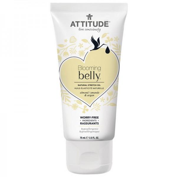 Blooming Belly Ulei antivergeturi, Extract de migdale si argan (75 ml), Attitude