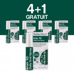 4+1 GRATUIT Iron 10 Oral Spray (25ml), BetterYou