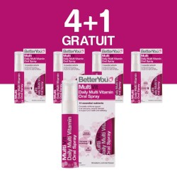 4+1 GRATUIT Multivit Oral Spray (25ml), BetterYou