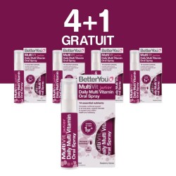4+1 GRATUIT Multivit Junior Oral Spray (25ml), BetterYou