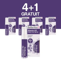4+1 GRATUIT Vitamin K2 Oral Spray (25ml), BetterYou