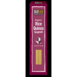 Spaghetti din orez si quinoa fara gluten bio (250 grame), Biofair