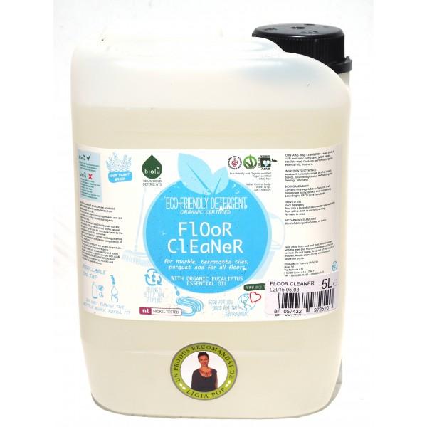 Detergent ecologic pentru pardoseli (5 litri), Biolu
