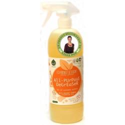 Detergent ecologic pentru toate suprafetele cu ulei de portocale (1 litru), Biolu