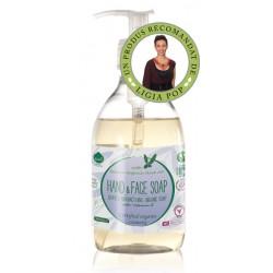 Sapun lichid ecologic antibacterian cu lavanda si vitamina E (300 ml), Biolu