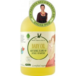 Ulei ecologic pentru bebelusi (300 ml), Biolu