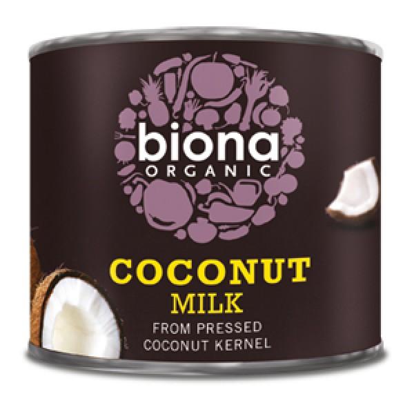 Lapte de cocos bio (200 ml), Biona