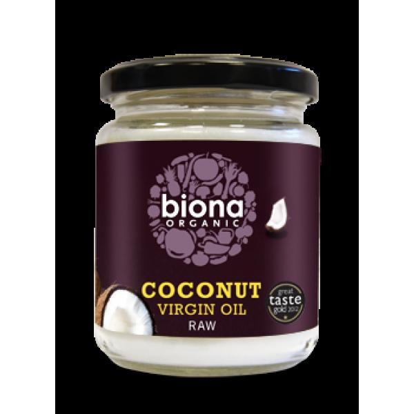 Ulei de cocos virgin presat la rece bio (200g), Biona