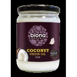 Ulei de cocos virgin presat la rece bio (400g), Biona