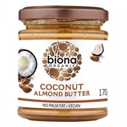 Unt de migdale si cocos bio (170 grame), Biona