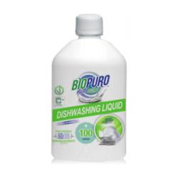 Detergent hipoalergen lichid pentru spalat vase bio (500 ml), Biopuro