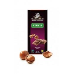 Ciocolata de lapte belgiana cu alune (85 grame), Cavalier