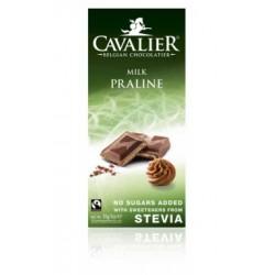 Ciocolata de lapte cu praline de alune (85 grame), Cavalier