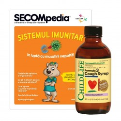 Cough Syrup 118,5ml (gust de fructe), ChildLife Essentials