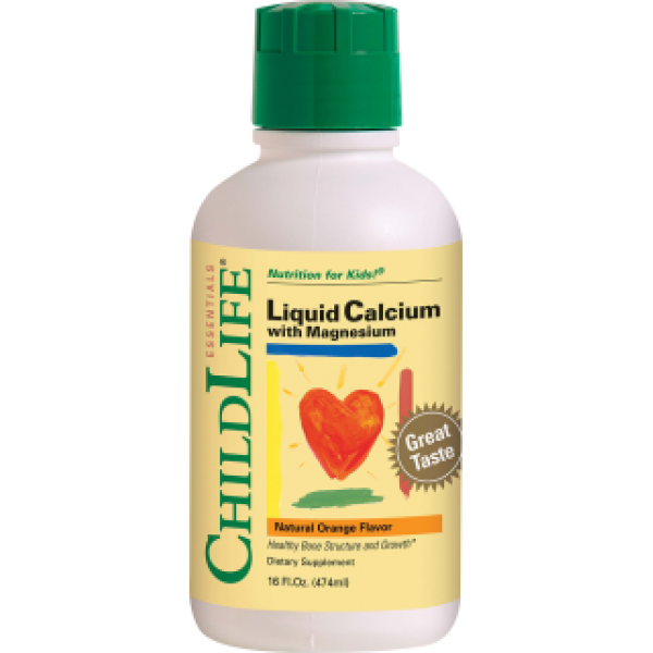 Calcium with Magnesium 474ml (gust portocale)