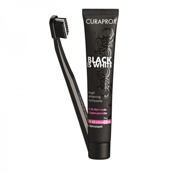 Pasta de dinti neagra Black is White, CURAPROX