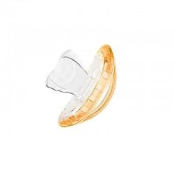 Suzeta Ortodontica Orange pentru copii intre 18 si 36 luni, Curaprox