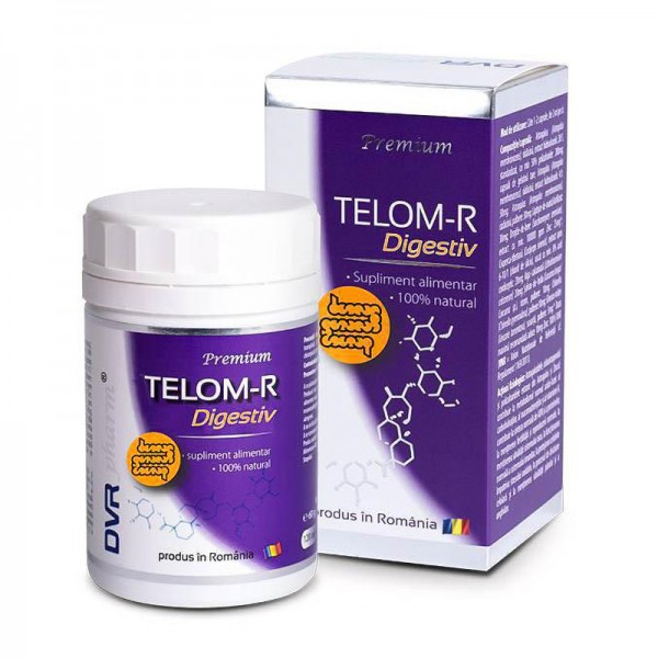 Telom-R Digestiv (120 capsule), DVR Pharm