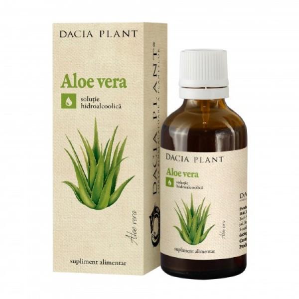 Aloe Vera tinctura (50 ml), Dacia Plant