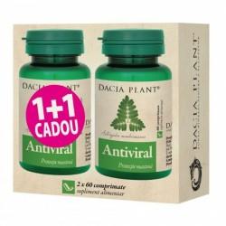 Promo Antiviral (60 comprimate) 1+1 Gratuit , Dacia Plant