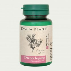 Drenor hepatic (60 comprimate), Dacia Plant