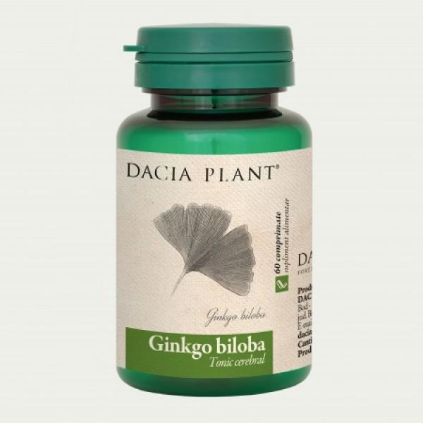 Ginkgo biloba (60 comprimate), Dacia Plant