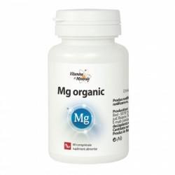 Vitamine si Minerale Magneziu Organic (60 comprimate), Dacia Plant