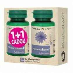 Promo Normocolesterol (60 comprimate) 1+1 Cadou, Dacia Plant