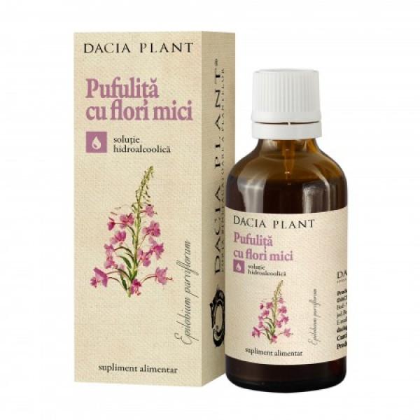 Tinctura de pufulita cu flori mici (50ml), Dacia Plant