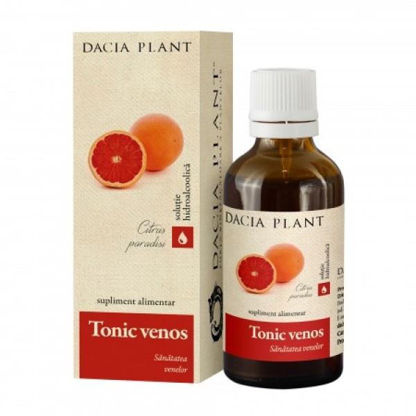Tinctura Tonic venos (50ml), Dacia Plant