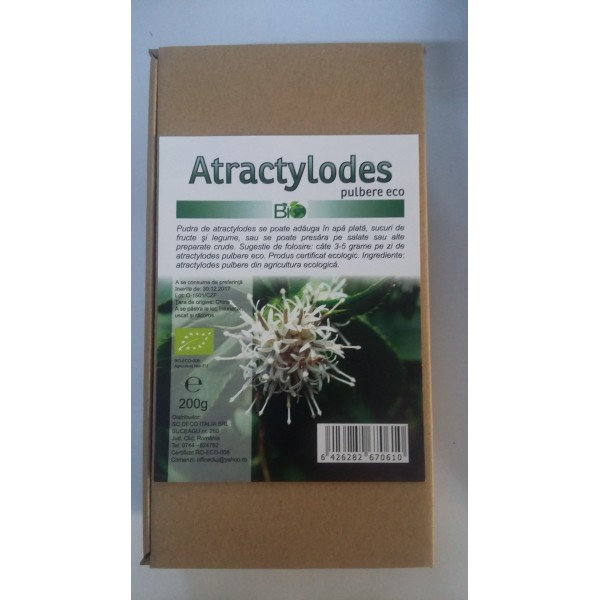 Atractylodes pulbere bio (200 grame)