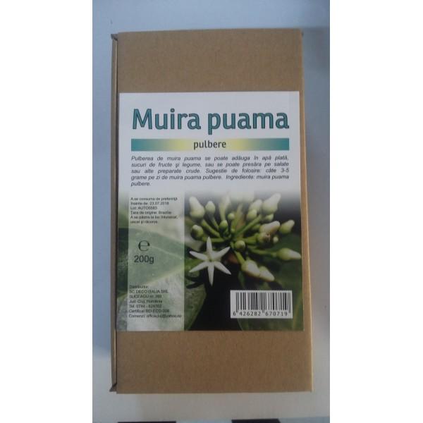 Muira puama pulbere (200 grame)