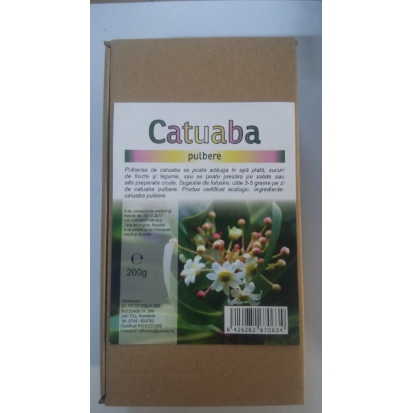 Catuaba pulbere (200 grame)