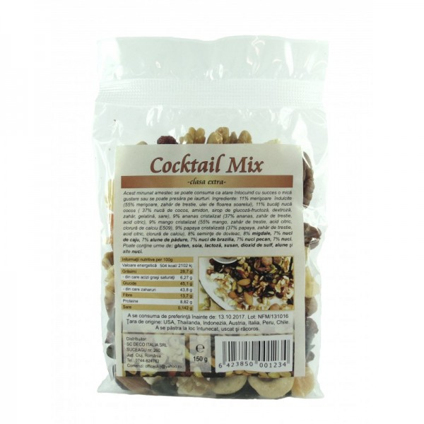 Cocktail mix clasa extra (150 grame)