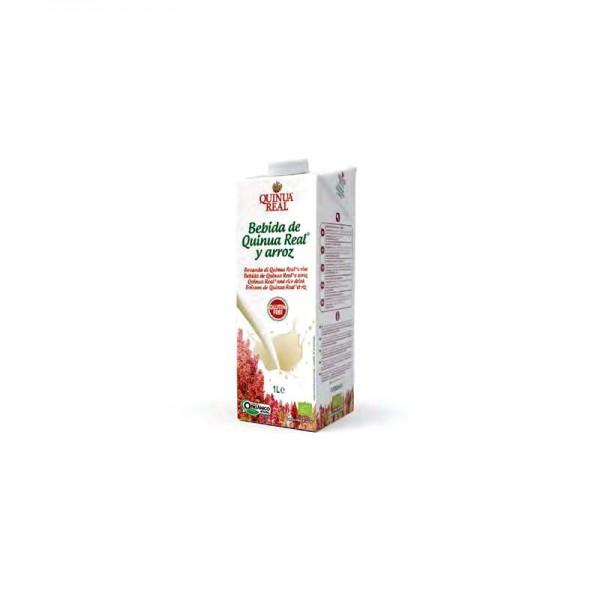 Lapte de quinoa 10% si orez (1 litru)