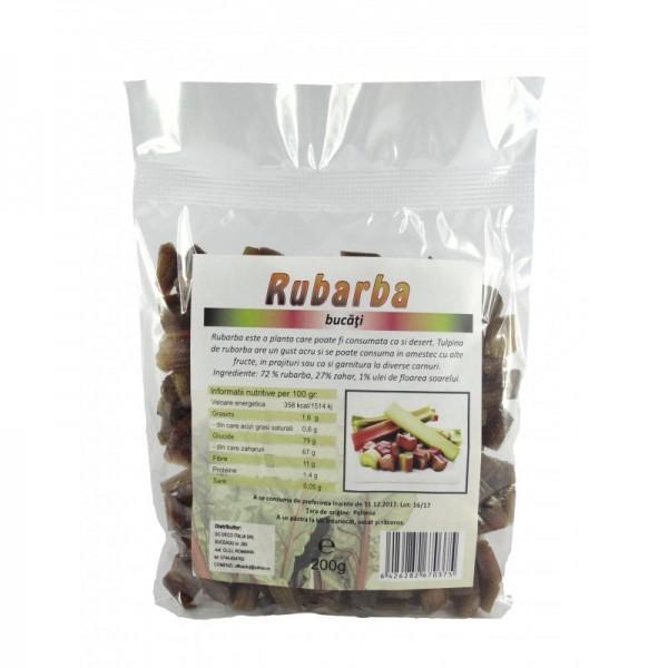 Rubarba zaharisita (200 grame)