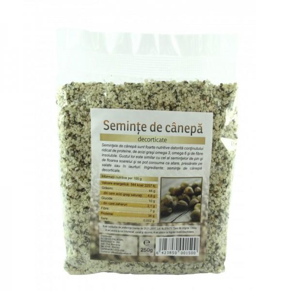 Seminte de canepa (250 grame)