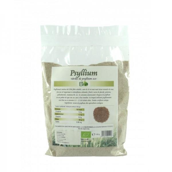 Tarate bio de Psyllium (150 grame)